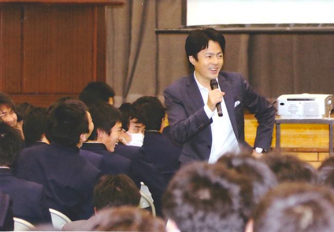 高校講演会1