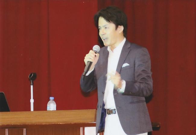 高校の講演会2