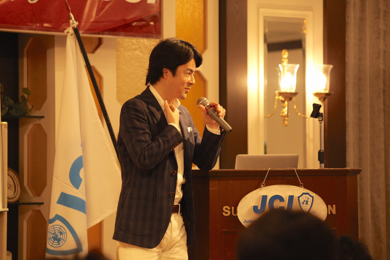 平塚青年会議所JCIでの講演