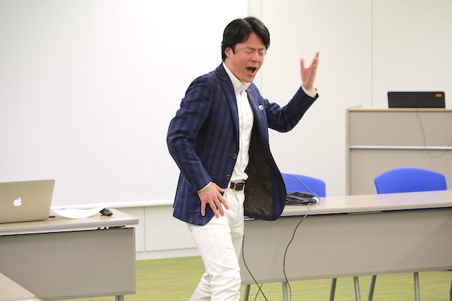 経営者勉強会の講師