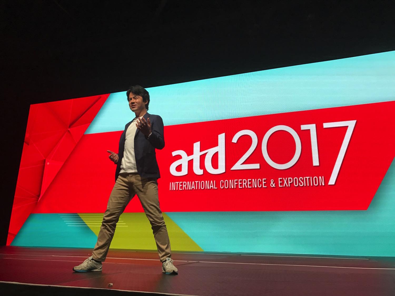 ATDの大舞台デビュー