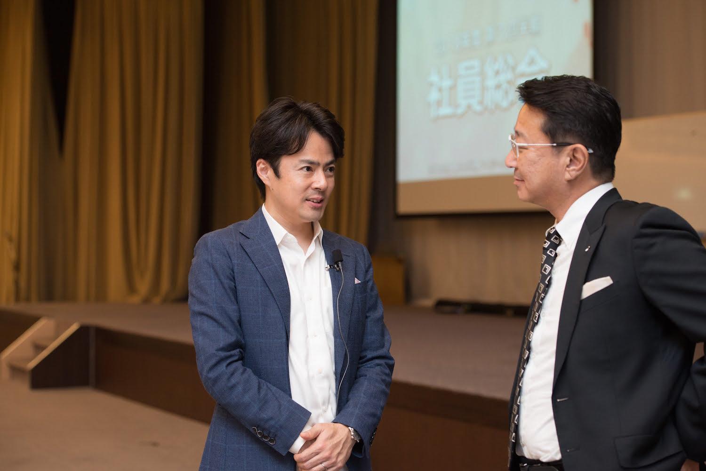 浜松の企業で講演